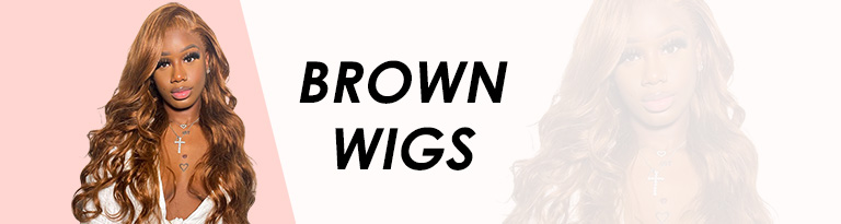 Brown Wigs