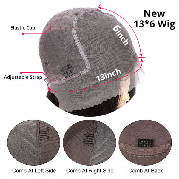 13*6 Straight Wig