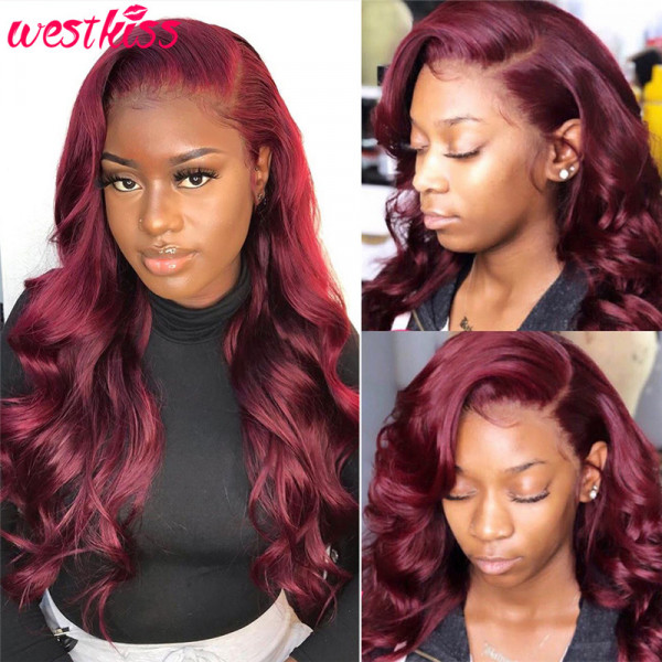 Burgundy Colored Wigs