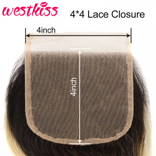 Ombre 4*4 Lace Closure