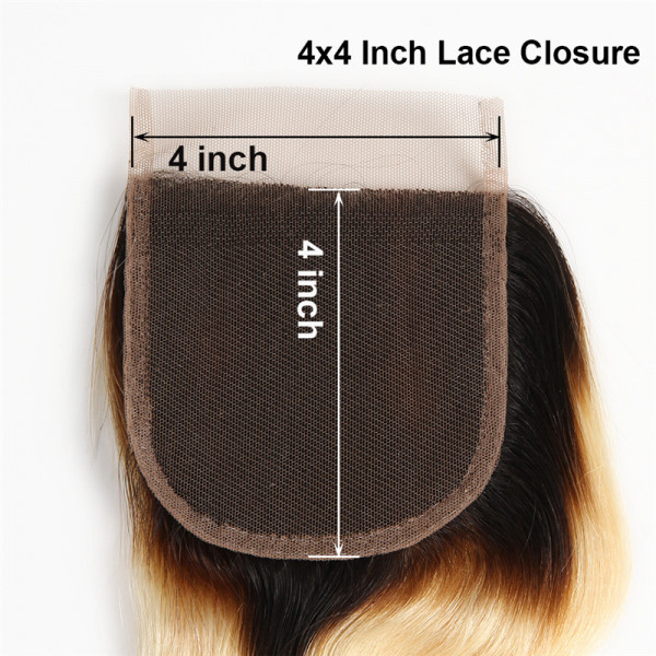 4*4 Lace Closure