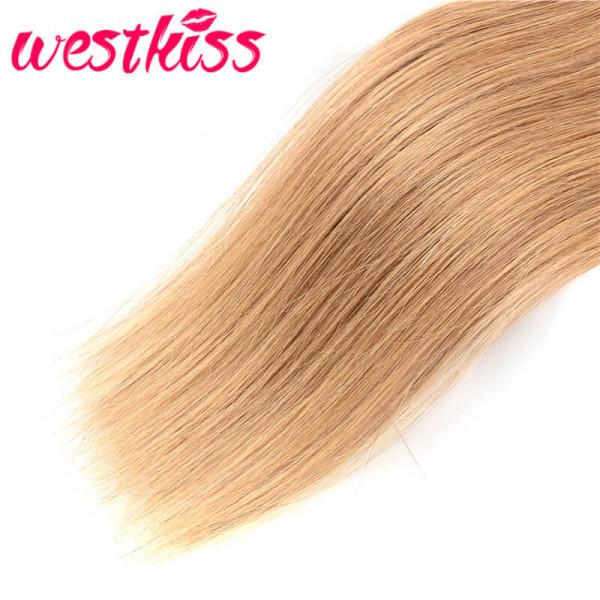 Honey Blonde Straight Hair