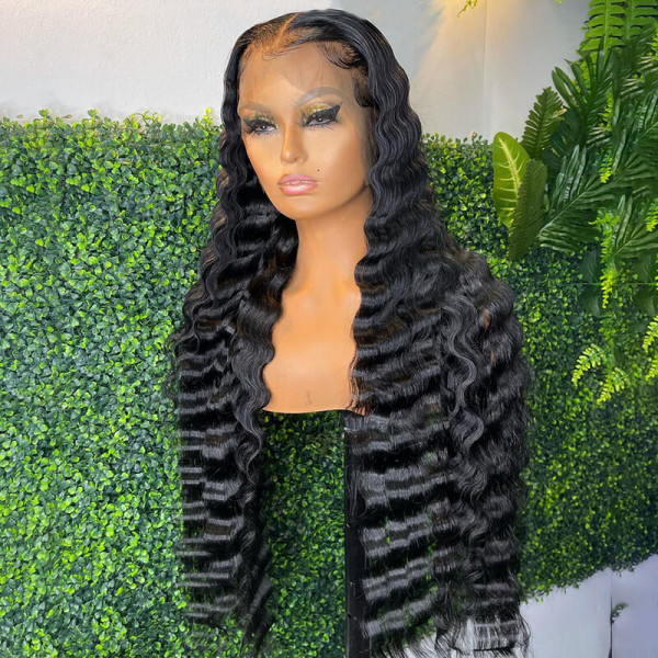 28inch Deep Wave Wig