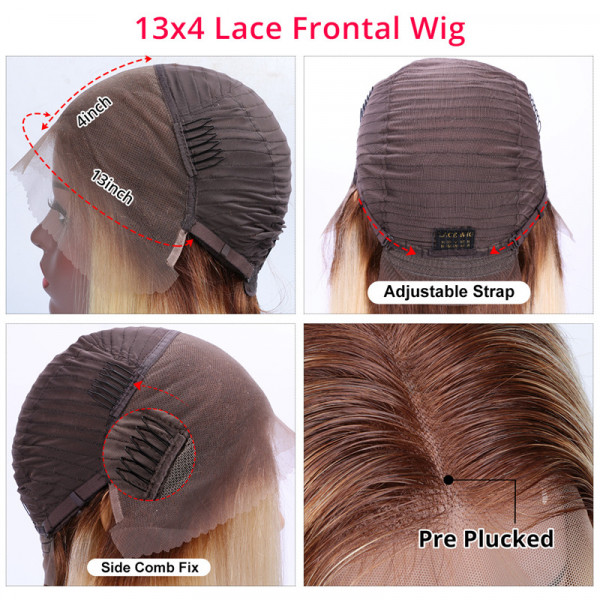 Ombre Lace Front Wigs