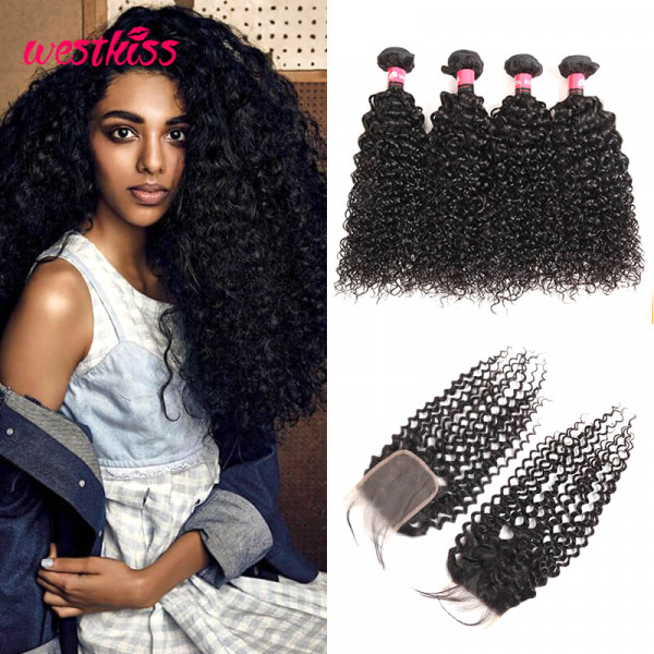 Curly Weave With Closure