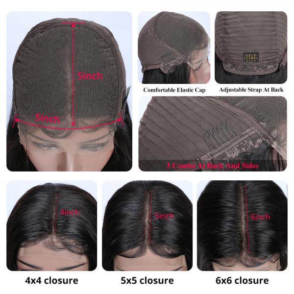 5x5 Lace Wigs