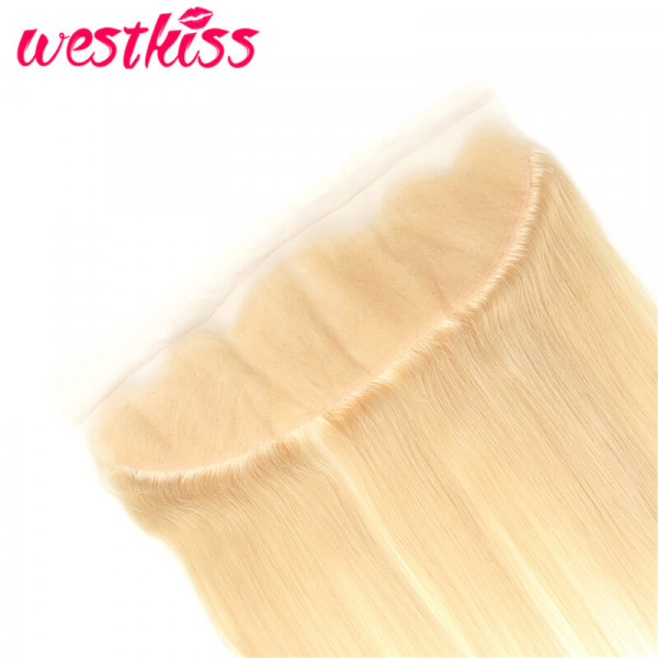 Blonde Straight Lace Frontal