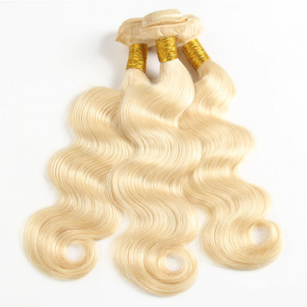 Blonde Hair Body Wave