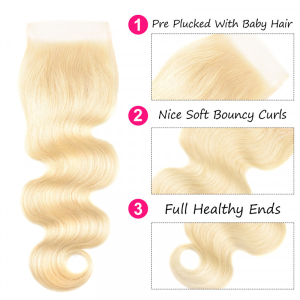 Blonde Human Hair Bundles