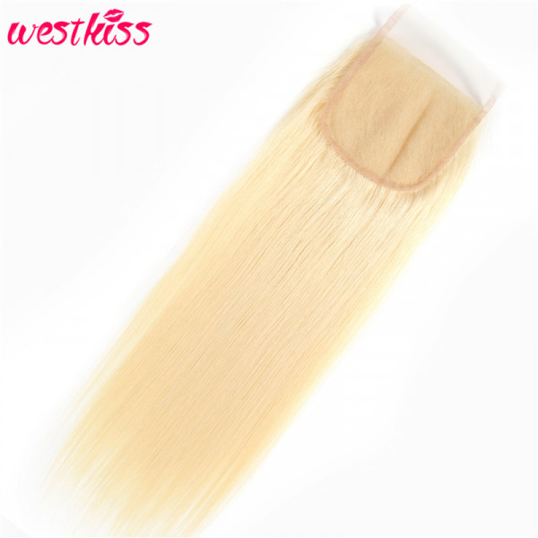 Blonde Brazilian Hair Closure