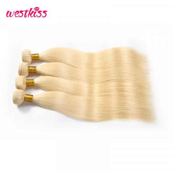 613 Blonde Straight Virgin Hair