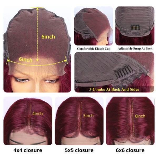 99J Closure Wigs