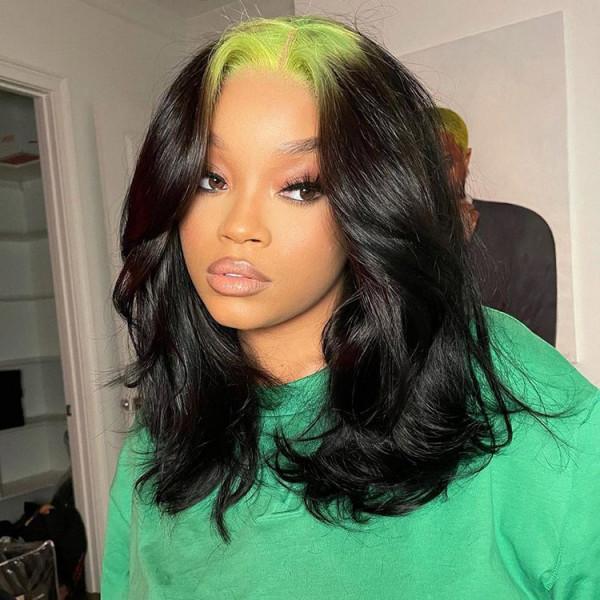 short green wig