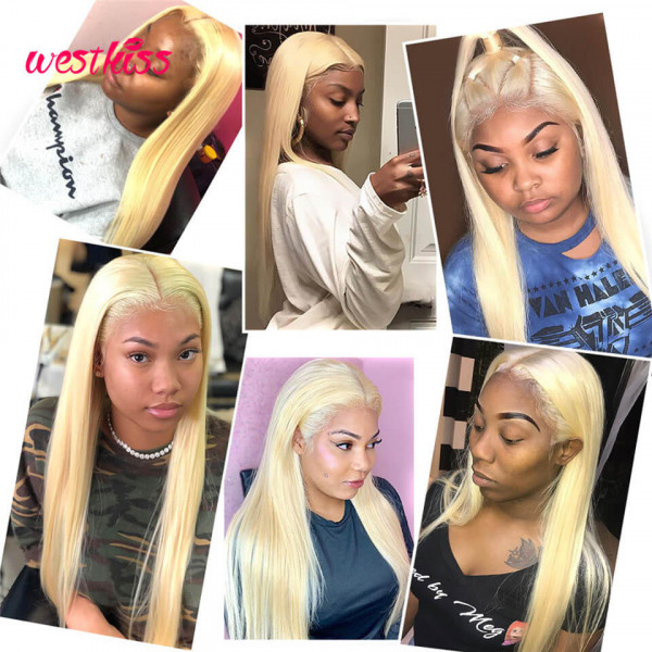 Blonde 5*5 Closure Wigs