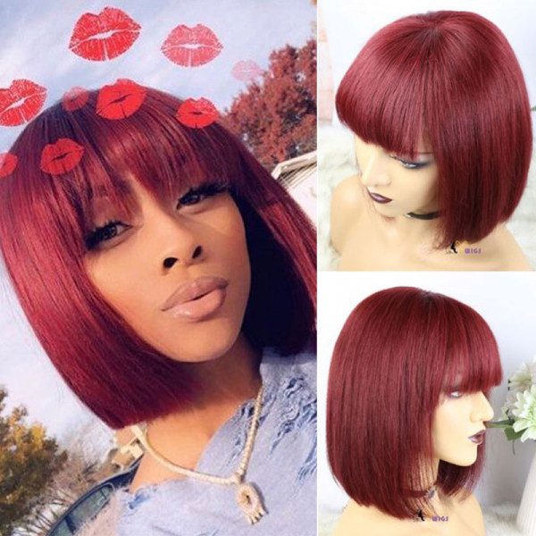 Colored Bob Wigs