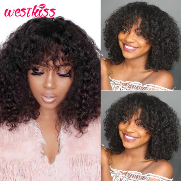 Deep Wave Short Wigs