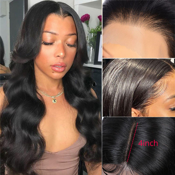 Body Wave 4*4 Lace Wigs