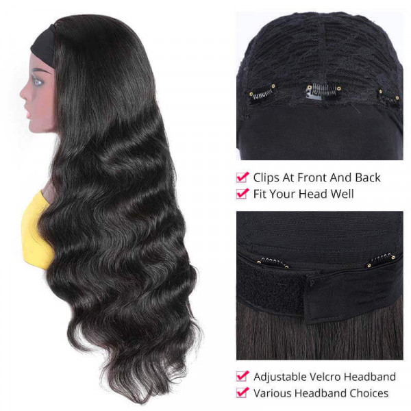 Body Wave Headband Wigs