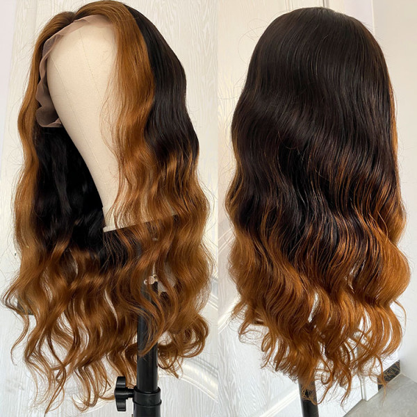 Body Wave Ombre Colored Wigs