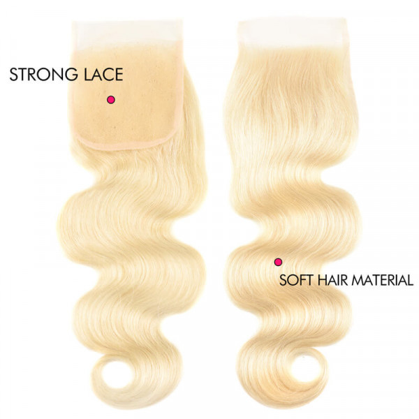 613 4*4 Lace Closure