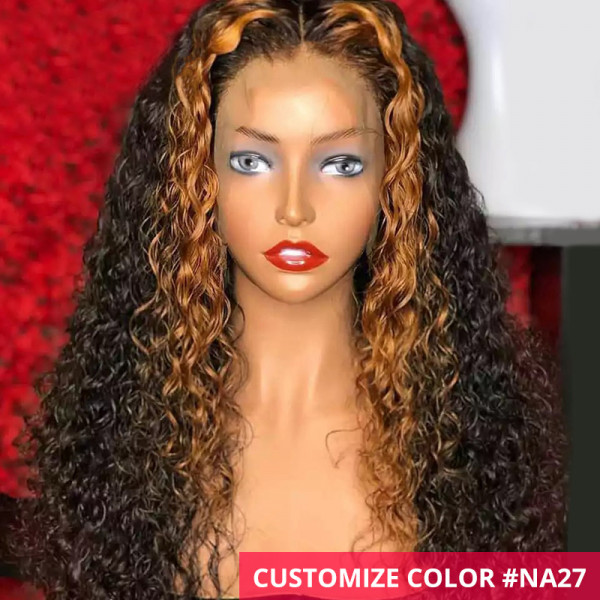 Curly Ombre Wigs