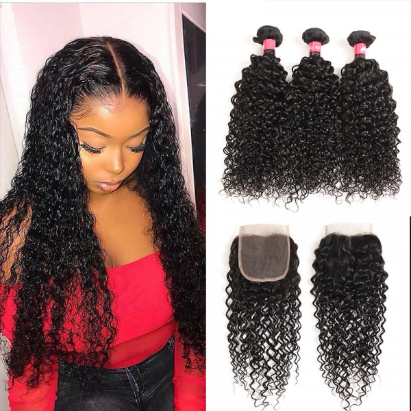 Curly Hair Weave