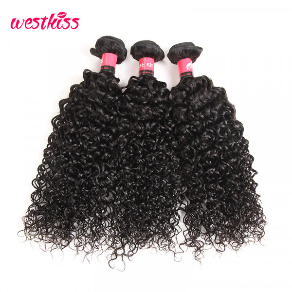 Malaysian Kinky Curly Human Hair 3 Bundles