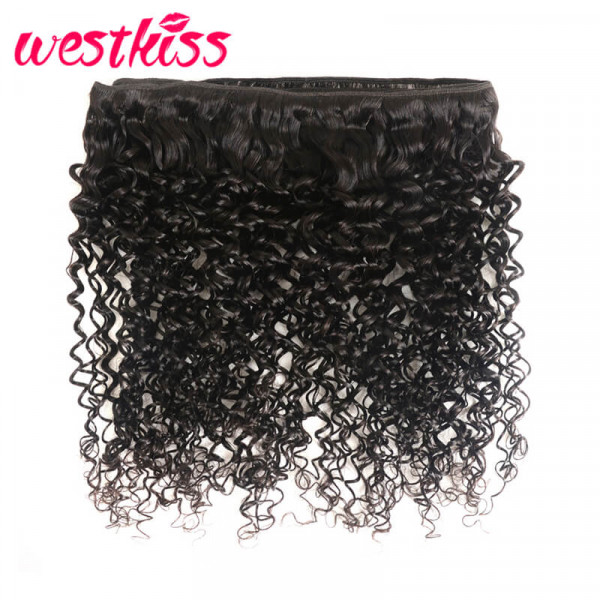 curly hair with frontal