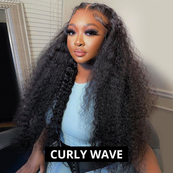 Curly Hair HD Lace Wigs