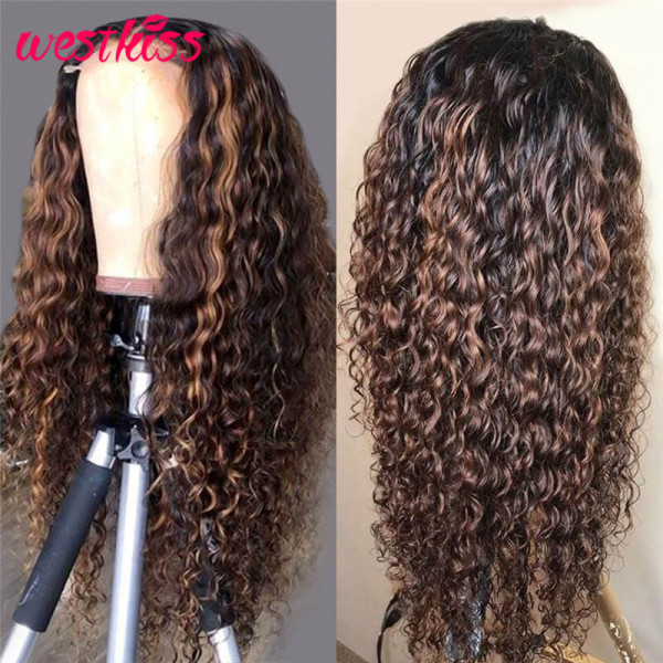 Curly Highlights Wigs