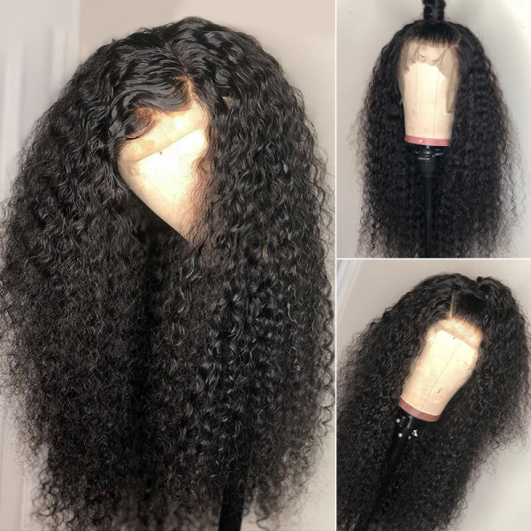 Curly 4*4 Lace Wigs