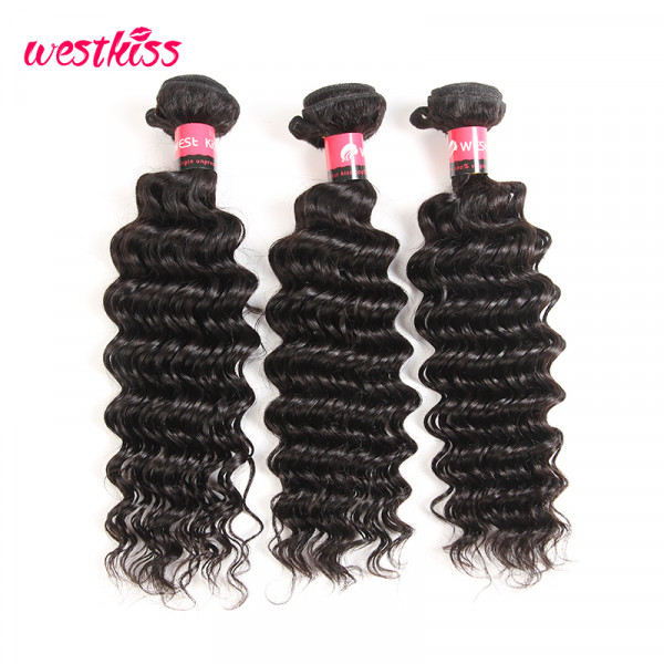 Malaysian Deep Wave Virgin Hair 3 Bundles