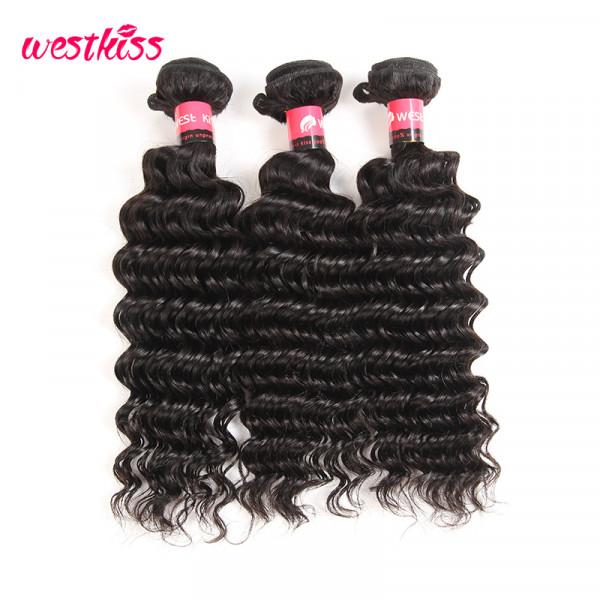 Peruvian Deep Wave Hair 3 Bundles