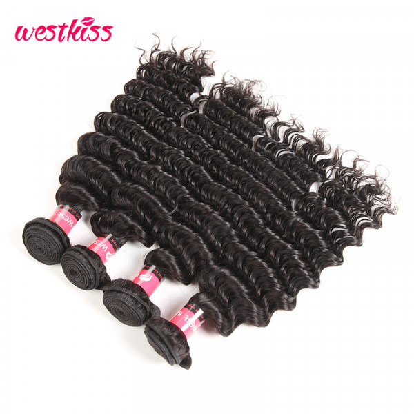 Human Hair Weaving 4 Bundles