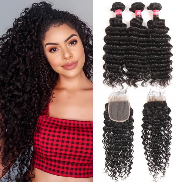 deep curly bundles with closure