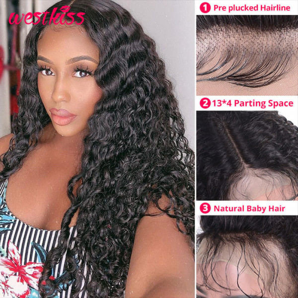 Long Wigs Deep Wave