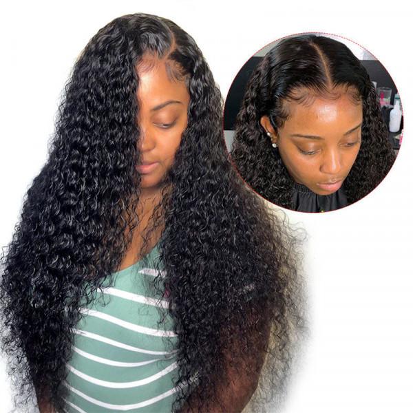 Straight Fake Scalp Wig