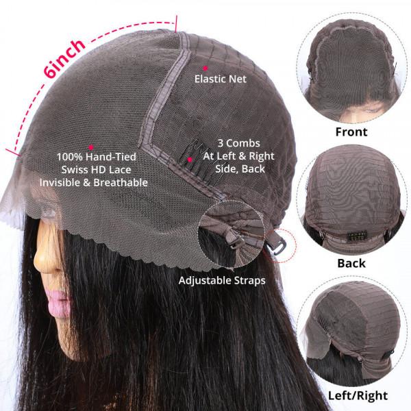 13x6 HD Frontal Wigs