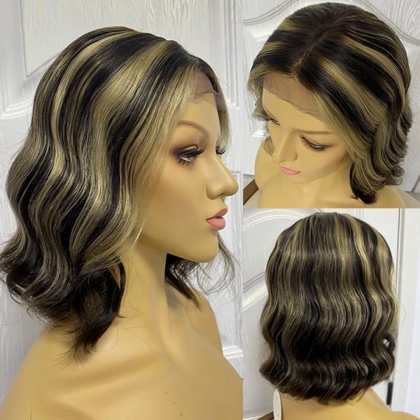 highlight bob wig
