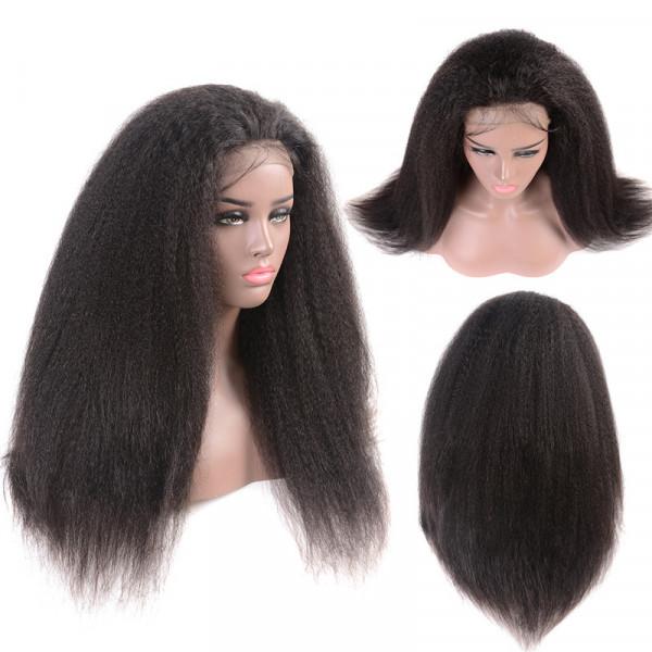 Kinky Straight Hair Wigs