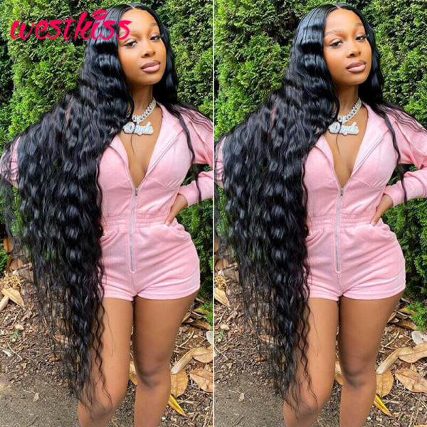 Long Wavy Lace Front Wigs