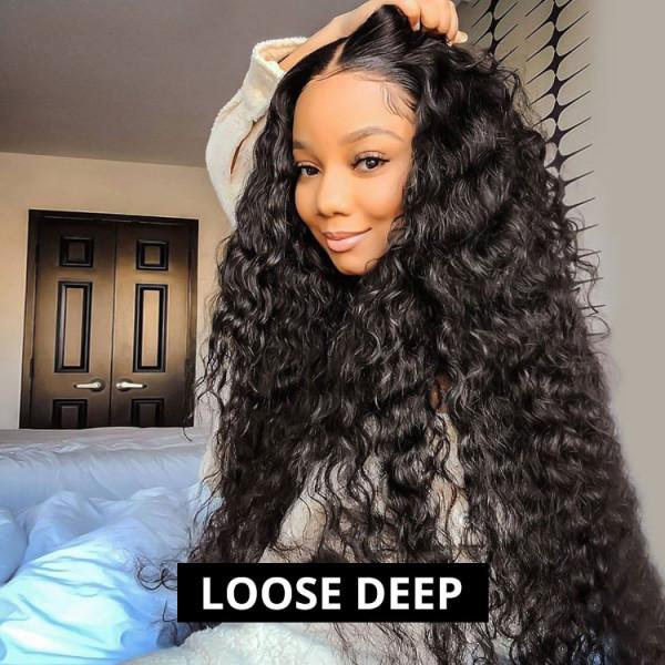 Loose Deep HD Lace Wigs