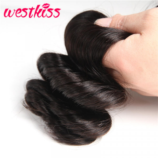 Loose Wave Human Hair Weave Bundles