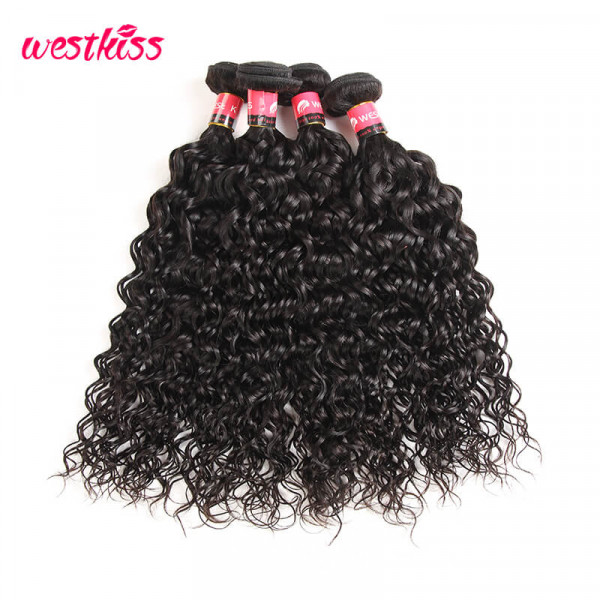 Natural Wave Hair 4 Bundles