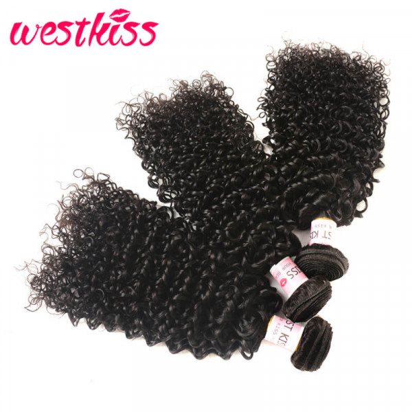 Jerry Curly Hair Bundles 3PCS