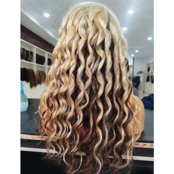 ombre body wave wig