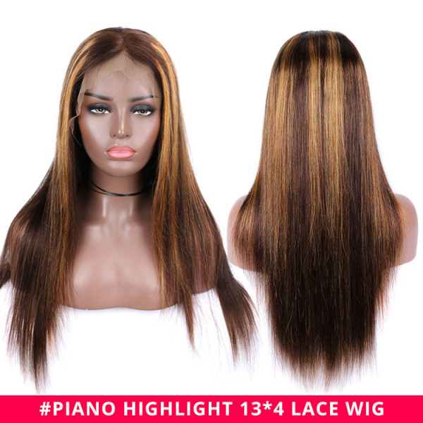 coloured highlight wigs