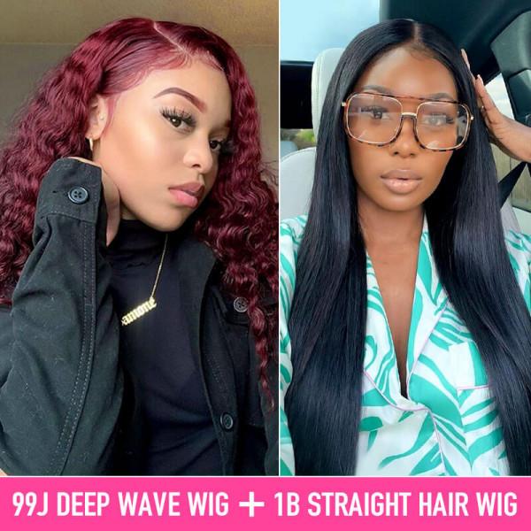 99J Deep Wave Wigs