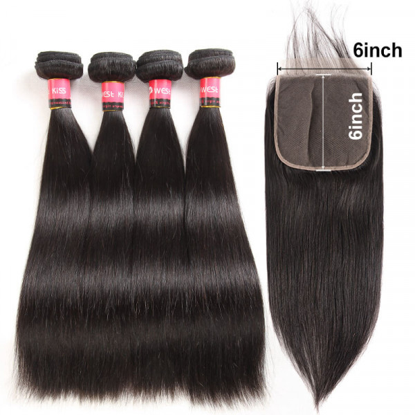 Straight Hair Weave And Closures