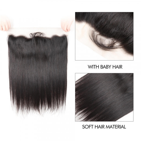 Brazilian Straight Hair Frontal